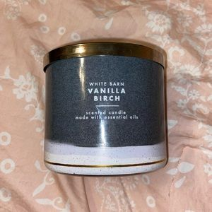 Bath & Body Works Vanilla Birch Candle